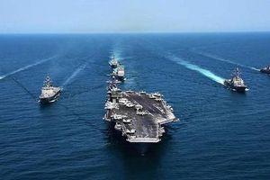 Đừng dại đùa với Hạm đội tàu sân bay Mỹ!