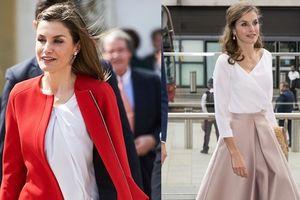 Bộ sưu tập váy đẹp bình dân của nữ hoàng Tây Ban Nha