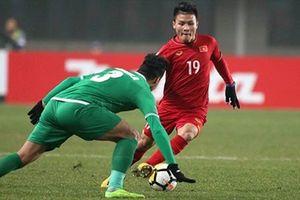 Thủng lưới phút 90, tuyển Việt Nam thua ngược đáng tiếc trận ra quân