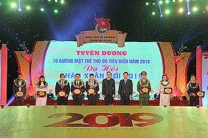 Cầu thủ Quang Hải là một trong 10 'Gương mặt trẻ Thủ đô tiêu biểu' năm 2018