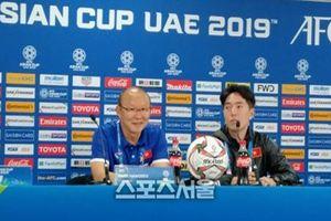 Ra quân thua trận, HLV Park Hang-seo sẽ sửa sai khi gặp Iran