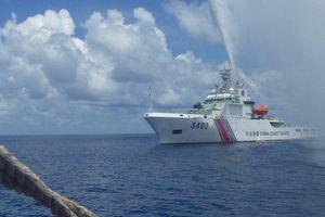 Tàu chiến Mỹ tới biển Đông, Trung Quốc phản ứng