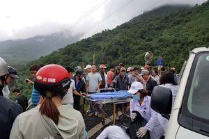Nam sinh kể lại giây phút xe khách lao xuống vực ở đèo Hải Vân