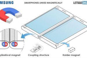 Samsung muốn dùng kết nối nam châm cho màn hình gập được