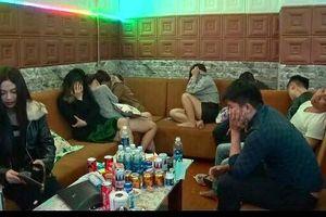 Hàng chục nam nữ thuê nhà nghỉ sử dụng ma túy