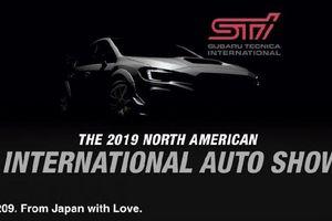 Subaru WRX STI 209 hé lộ những hình ảnh đầu tiên