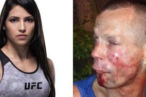 Dùng 'súng giả' dọa nhầm nữ võ sĩ UFC, tên cướp nhận cái kết đắng