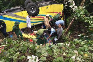 Vụ xe khách lật trên đèo Hải Vân: Sinh viên kể lại giây phút sinh tử
