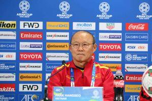 HLV Park Hang Seo thừa nhận đối thủ mạnh, Việt Nam không có lợi thế về thể lực