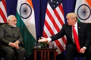 Tổng thống Mỹ và Thủ tướng Ấn Độ điện đàm về vấn đề thương mại