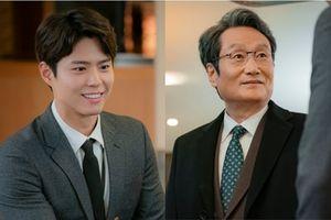 'Encounter' tập 11: Park Bo Gum tươi cười gặp gỡ bố Song Hye Kyo
