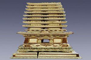 Vĩnh Phúc: Tháp gốm men chùa Trò được công nhận bảo vật Quốc gia