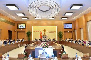 Thông cáo báo chí về dự kiến chương trình Phiên họp thứ 30 của ủy ban Thường vụ Quốc hội