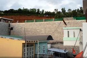 Chủ đầu tư dự án Marina Hill nói gì sau sự cố gạch tường chắn rơi hàng loạt khiến người dân tháo chạy?