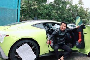 Siêu phẩm Aston Martin V8 Vantage đầu tiên về Việt Nam đã có chủ