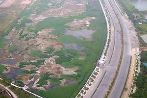 Sau 2 năm, nhà máy xử lý nước thải lớn nhất Hà Nội vẫn đắp chiếu