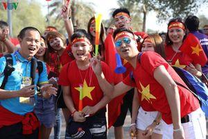 CĐV Việt Nam 'tiếp lửa' thầy trò HLV Park Hang Seo đối đầu ĐT Iraq
