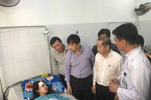 Xe khách chở 21 người lao xuống vực ở đèo Hải Vân: Hỗ trợ các nạn nhân gặp nạn
