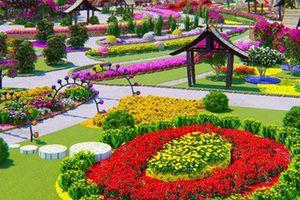 Suối Tiên xây dựng 'Kỳ hoa Thượng Uyển Cung' phục vụ du lịch Tết Kỷ Hợi 2019