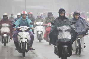 Dự báo thời tiết: Bắc bộ mưa rào, trời rét đậm dưới 8 độ C