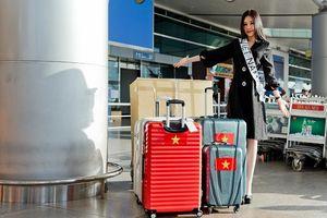 Dù Cục cấm, Ngân Anh đã lên đường thi Miss Intercontinental