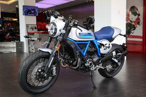 Ducati Scrambler Cafe Racer 2019 chính hãng về VN, giá hơn 400 triệu