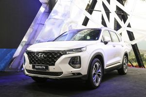 Trải nghiệm nhanh Hyundai SantaFe 2019 - nội thất đẹp, nhiều công nghệ