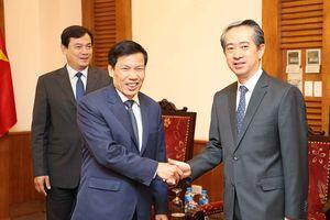 Tiếp tục phối hợp thúc đẩy quan hệ hợp tác giữa Việt Nam - Trung Quốc trên các lĩnh vực văn hóa, thể thao và du lịch