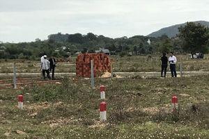 Ngưng xây dựng để điều tra dự án đất 'vàng' ở Bà Rịa - Vũng Tàu