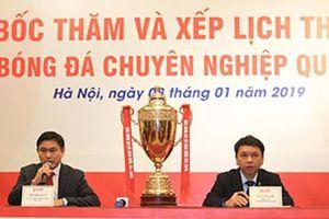 Nhiều điểm mới tại các giải bóng đá chuyên nghiệp Việt Nam mùa giải 2019
