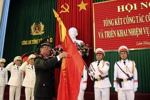 Công an Lâm Đồng, Quảng Ngãi tổng kết, triển khai công tác