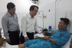 Bộ trưởng Phùng Xuân Nhạ gửi lời thăm hỏi SV gặp nạn trong vụ tai nạn tại đèo Hải Vân
