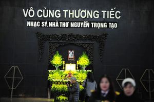 Gia đình, bạn bè tiễn biệt Nguyễn Trọng Tạo về với 'Khúc hát sông quê'