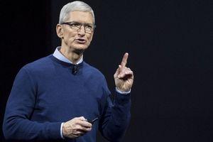 Năm 2018, CEO Apple Tim Cook nhận lương thưởng cao kỷ lục