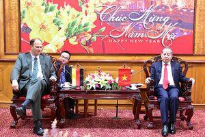 Chủ tịch UBND tỉnh Thừa Thiên Huế tiếp Đại sứ Cộng hòa Liên bang Đức