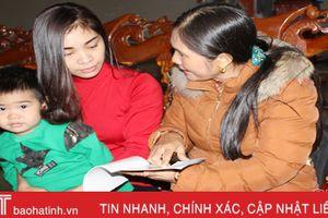Hà Tĩnh đưa tỷ số giới tính khi sinh xuống 108 bé trai/100 bé gái