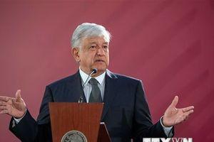 Tổng thống Mexico Lopez Obrador chấp nhận lời mời thăm Nga