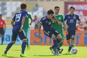 Nhật Bản chật vật đả bại Turkmenistan trong trận cầu 5 bàn thắng