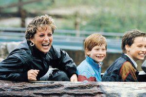 Cách dạy con ngược truyền thống Hoàng gia của công nương Diana