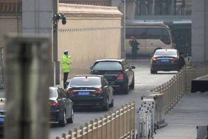 Tàu của Chủ tịch Kim Jong-un rời Bắc Kinh