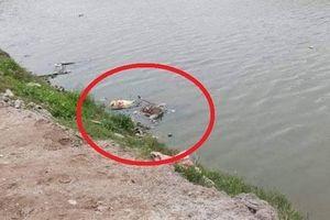 Vụ thi thể trôi sông ở Vĩnh Phúc: Nạn nhân bị trói chân tay, đầu bịt kín bằng túi nylon