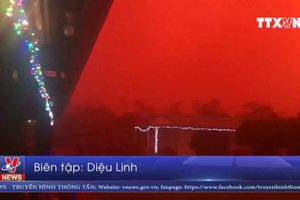 Bão bụi nhuộm đỏ bầu trời Australia