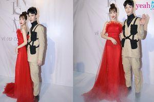 Hòa Minzy và Erik thắm tình chị em trên thảm đỏ sự kiện sau ồn ào thái độ với fan của 'chị đại'