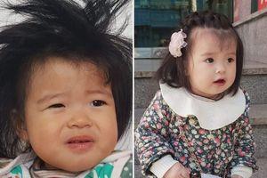 Em bé lai Việt – Hàn gây 'sốt' sau bức ảnh khoe khoảnh khắc lúc ở nhà và đi chơi khác 'một trời một vực'