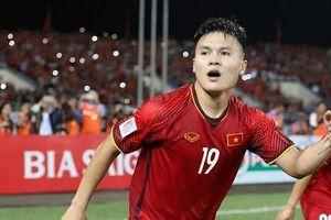 Cầu thủ Nguyễn Quang Hải là một trong 10 gương mặt trẻ tiêu biểu thủ đô năm 2018