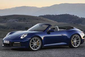 Porsche 911 Cabriolet ra mắt với khả năng tăng tốc tối đa lên tới 306 km/h