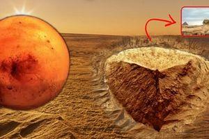 Vật thể giống hệt Tượng nhân sư Ai Cập trên sao Hỏa