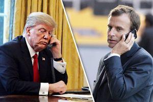 Tổng thống Mỹ điện đàm với Tổng thống Pháp về vấn đề Syria