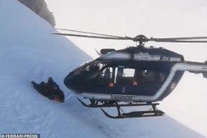 Cuộc giải cứu nạn nhân đầy kịch tính trong vụ lở tuyết trên dãy Alps