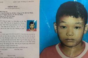 Thông tin bất ngờ vụ bé trai 9 tuổi mất tích khi tới chỗ bố làm việc ở Sài Gòn